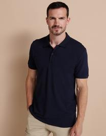 Modern Fit Cotton Microfine-Piqué Polo Shirt